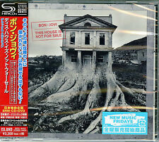 BON JOVI-THIS HOUSE IS NOT FOR SALE...-JAPAN SHM-CD+DVD BONUS TRACK Ltd/Ed H66