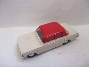 Tri-ang Spot On Vauxhall PB Cresta  Cream/Red  280   1963