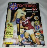 Football 87 : Vintage Panini Sticker Album : 100% Complete..