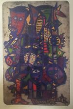 Nathaniel Bustion Signed/Numbered Bobo Festival Series 2 Offset Print 27½x 17½