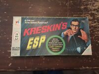 Vintage 1966 Milton Bradley Kreskin's ESP Game Complete with Original Box