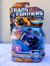 2010 Transformers Reveal The Shield Autobot Optimus Prime Sealed MISB MIB BOX