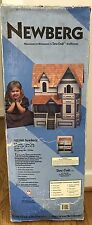 Vintage NEWBERG DURACRAFT Dollhouse Assembly Kit NB180 6 Room Year 1994 Boxed
