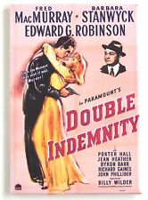 Double Indemnity Fridge Magnet (2 x 3 inches) movie poster