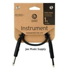 D'Addario Planet Waves Patch Cable 1/4 inch straight ends
