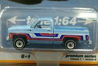 AUTO WORLD 1976 76 CHEVY BONANZA C-10 FLEETSIDE PICKUP TRUCK -Light Blue, MIP
