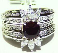 GIA Certified 2.31CT Platinum Natural Brazilian Alexandrite Diamond Vintage Ring
