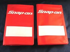 2 NEW Snap On Tools Custom Want List, Receipt, Credit Card Holder 11 7/8 X 10