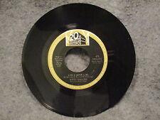 """45 RPM 7"""" Record Kitty Kallen Make Someone Love You & Lies & More Lies 20th 471"""