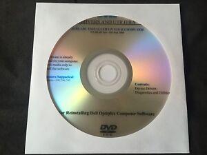 DELL Optiplex 330 - 740 - 745 - 755 Drivers CD DVD Disc