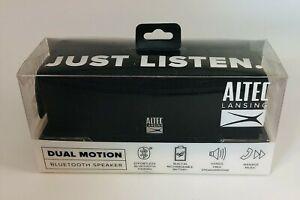 ALTEC LANSING - IMW140-BLK - DUAL MOTION - WIRELESS - BLUETOOTH SPEAKER