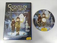 CUENTO DE NAVIDAD DE CHARLES DICKENS DVD + EXTRAS CASTELLANO ENGLISH ANIMACION