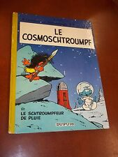 "BD / SCHTROUMPF ""LE COSMOSCHTROUMPF"" (1970) PEYO / EDITION ORIGINALE"