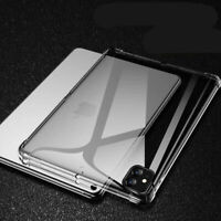 For Apple iPad Pro 12.9 (4th Gen) 2020 Shockproof Clear Soft Silicone Case Cover