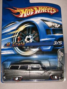 Hot Wheels Red Lines 8 Crate Collector No. 098 SEALED UNOPENED HTF