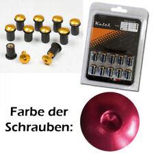 Windschutzscheiben Schrauben Set M5, eloxiert rot, Set à 10 Stück, 043044