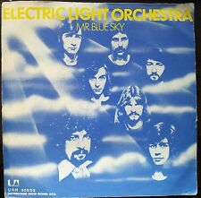 Electric Light Orchestra ‎– Mr. Blue Sky 45 giri 1977 VG+/EX Italian Issue Rare