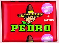 Chewing Gum PEDRO + tattoo CzechTraditional Sweet Candy Retro Socialistic