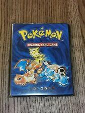Vintage Pokemon Card Folder WOTC Wizards Of The Coast Binder Holder