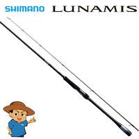 Shimano LUNAMIS S76ML Medium Light fishing spinning rod 2020 model