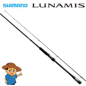 Shimano LUNAMIS S86ML Medium Light fishing spinning rod 2020 model