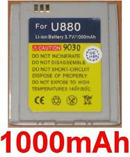 Battery 1000mAh For LG U880