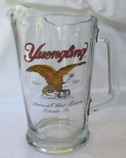 Yuengling Large Glass Beer Pitcher