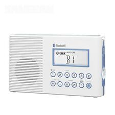NEW Sangean H202 JIS7 Waterproof AM/FM Bluetooth DSP Shower Radio replace H201