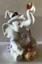 Lenox Trunk and Treats Halloween Witch Elephant