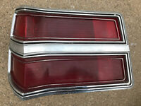 1977 1979 Dodge Magnum LH Driver Tail Light Assembly OEM Used Left 4076533 *READ