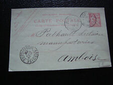 FRANCE - carte entier 1902 (date 210) (cy54) french