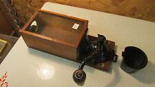 Antique Arcade X-Ray Coffee Grinder Wall Mount  No. 5