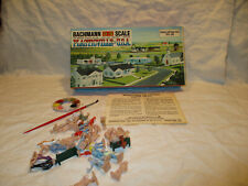 Vintage Plasticville USA Citizens with paint  O & S scale