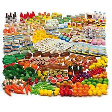 Erzi Kaufladen Lebensmittel Küche Obst Gemüse Wurst Käse Geschirr Töpfe