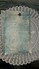 Antique Chinese House Blue Prints, (In Chinese), Historical