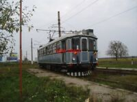 PHOTO  ROMANIA ARAD TRAM  RESTORED 1910 GANZ CAR