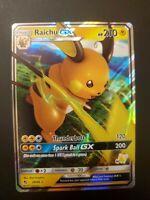 2019 Pokemon Sun /& Moon Hidden Fates Raichu GX #20//68 PSA 10 QTY AVAIL POP 106
