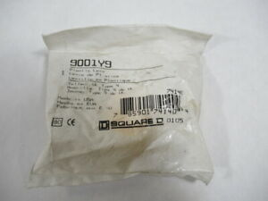 Square D 9001Y9 Plastic Lens Yellow UL Type H ! NEW !