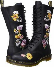 Women's Shoes Dr. Martens 1914 VONDA II Floral Leather Boots 24062001 BLACK