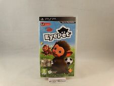 EYEPET EYE PET PRIMA STAMPA SONY PSP PLAYSTATION PORTABLE PAL ITALIANO COMPLETO