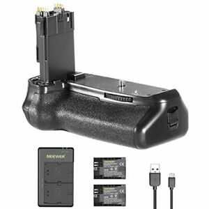 Neewer battery grip holder (for BG-E14) 2-Battery, micro USB input dual charger