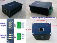 NEW ArtNet LAN DMX512 Dongle Interface Converter Controller For madrix Wysiwyg32