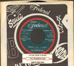 Midnighters - Annie Had A Baby Vinyl 45 rpm Record Free Shipping