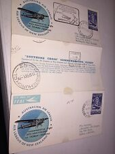 Australia Air League New Zealand Southern Cross 1958 Commemorative Flight 5u