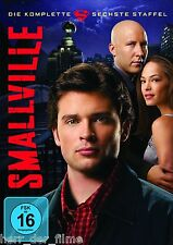 SMALLVILLE, Staffel 6 (Tom Welling), 6 DVDs NEU+OVP