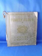 PURITY FLOUR COOKBOOK WESTERN CANADA FLOUR MILLS CO. ADVERTISING 1917