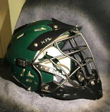 Riddell Xr Meduim Green And Black Lacrosse Helmet