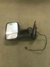 For 07-14 Chevy GMC Side Power Heated Towing Mirrors w/Arrow Signal Lights Drive