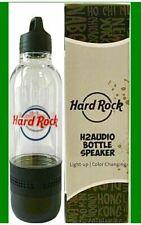 New Listing2020 Hard Rock Cafe H2 Audio Water Bottle Bluetooth Speaker - Brand new