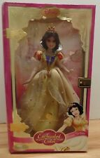 "Snow White Enchanted Tales Disney Brass Key 12"" Porcelain Doll 101518Btub3"